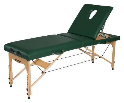 Camilla plegable de madera CP-252 respaldo posición 3