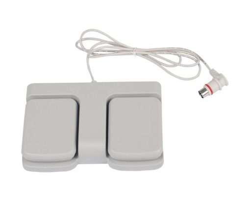 mando de pedal para regulación de camilla eléctrica