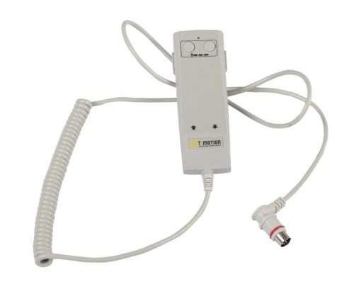 Mando manual para regulación de camilla eléctrica