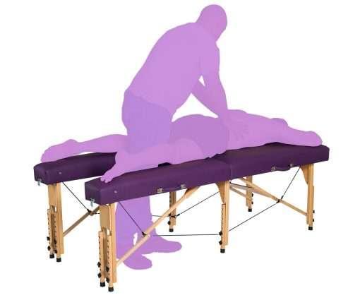 Camilla con Apertura en zona de piernas | CP-270