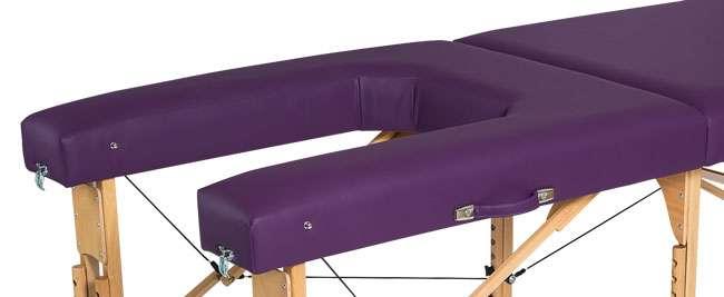 Zona abierta camilla plegable-de-madera CP-270