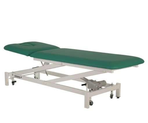 Camilla eléctrica CE-801 extendida-lateral