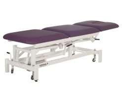camilla eléctrica CE-802 con respaldo y zona piernas articuladas de 3 cuerpos extendida