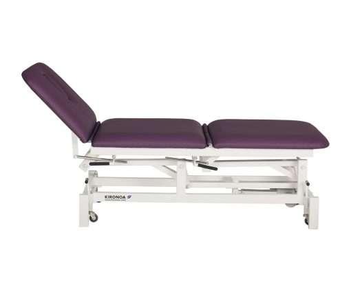 camilla eléctrica CE-802 con respaldo y zona piernas articuladas de 3 cuerpos respaldo articulado