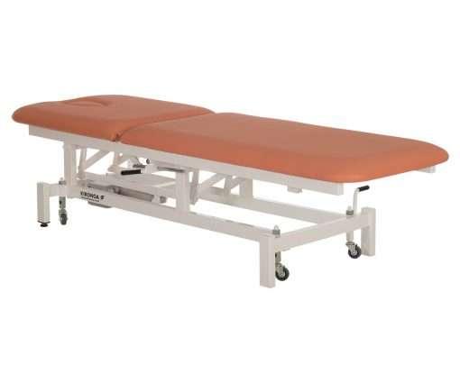 Camilla eléctrica CE-804 articulación respaldo lateral extendida