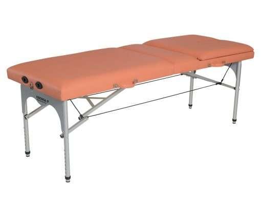 Camilla plegable de aluminio CP-256 - Articulación respaldo 1