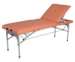 Camilla plegable de aluminio CP-256 - Articulación respaldo 3