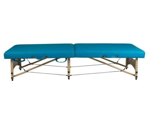 Camilla plegable de madera CP-269 - lateral