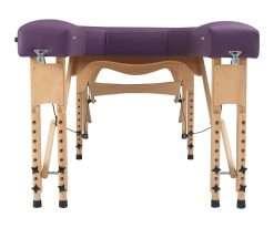 Camilla plegable de madera CP-270 - frontal