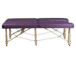 Camilla plegable de madera CP-270 - lateral largo