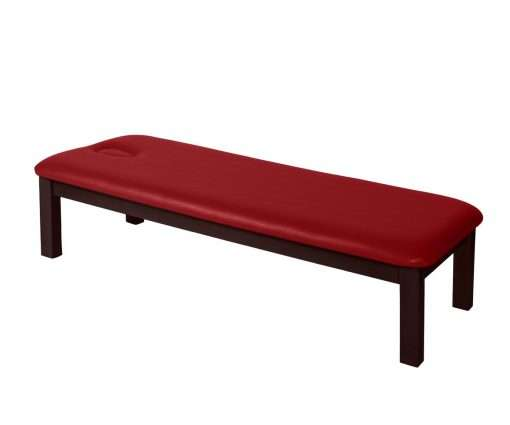 Camilla de madera fija M41 rojo - noanoe