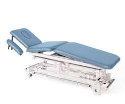 Camilla electrica de tres cuerpos con brazos regulables E46 cielo - Noa & Noe