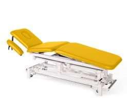 Camilla electrica de tres cuerpos con brazos regulables E46 crema - Noa & Noe