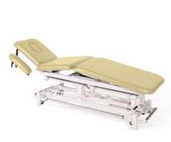 Camilla electrica de tres cuerpos con brazos regulables E46 makiato - Noa & Noe