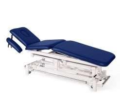 Camilla electrica de tres cuerpos con brazos regulables E46 marino - Noa & Noe