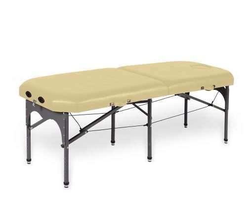 camilla plegable de aluminio con seis apoyos 14P28 makiato - Noa & Noe