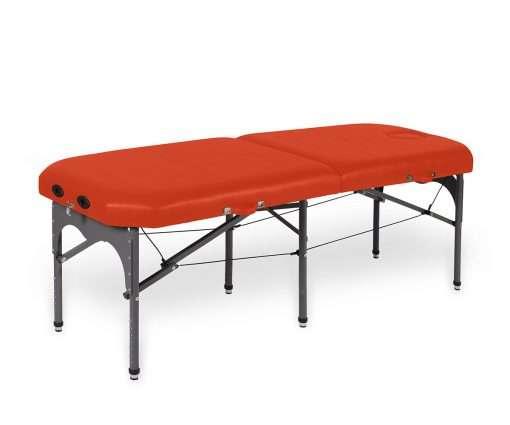 camilla plegable de aluminio con seis apoyos 14P28 mango - Noa & Noe