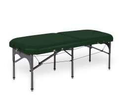 camilla plegable de aluminio con seis apoyos 14P28 verde - Noa & Noe