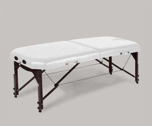 Camilla plegable de madera 14P34 blanco - Noa & Noe