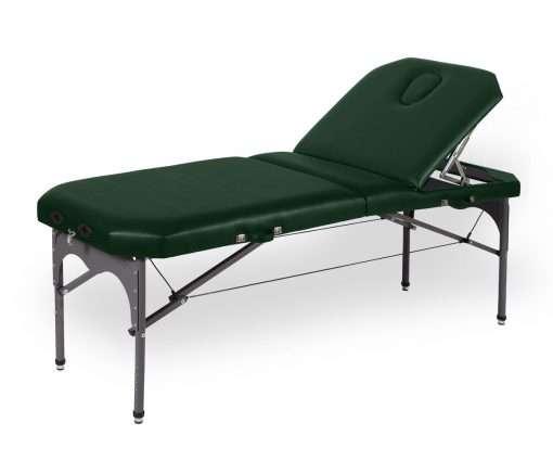 Camilla plegable de aluminio-articulada-P29 color verde - Noa & Noe