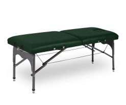 Camilla plegable de aluminio ligera P35 color verde - Noa & Noe