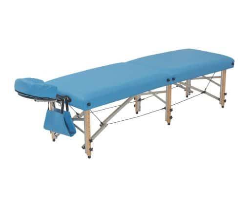 Camilla plegable plana madera para fisioterapia y osteopatía CP-281