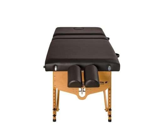 Camilla plegable de madera CP-240 cabezal articulado v frontal 3