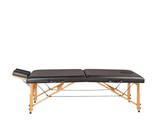 Camilla plegable de madera plana CP-241 lateral 1